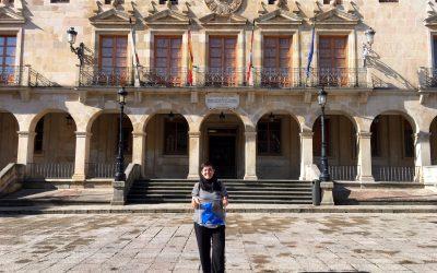 La Pajarita Azul aterriza en la Plaza Mayor de Soria