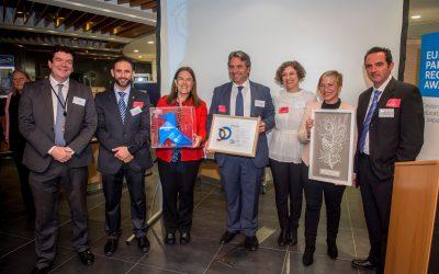 29 ayuntamientos pajaritas azules, premiados con el European Paper Recycling Award
