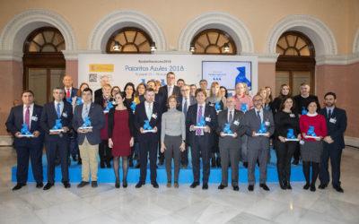 36 ayuntamientos reciben las Pajaritas Azules 2018 del reciclaje de papel y cartón
