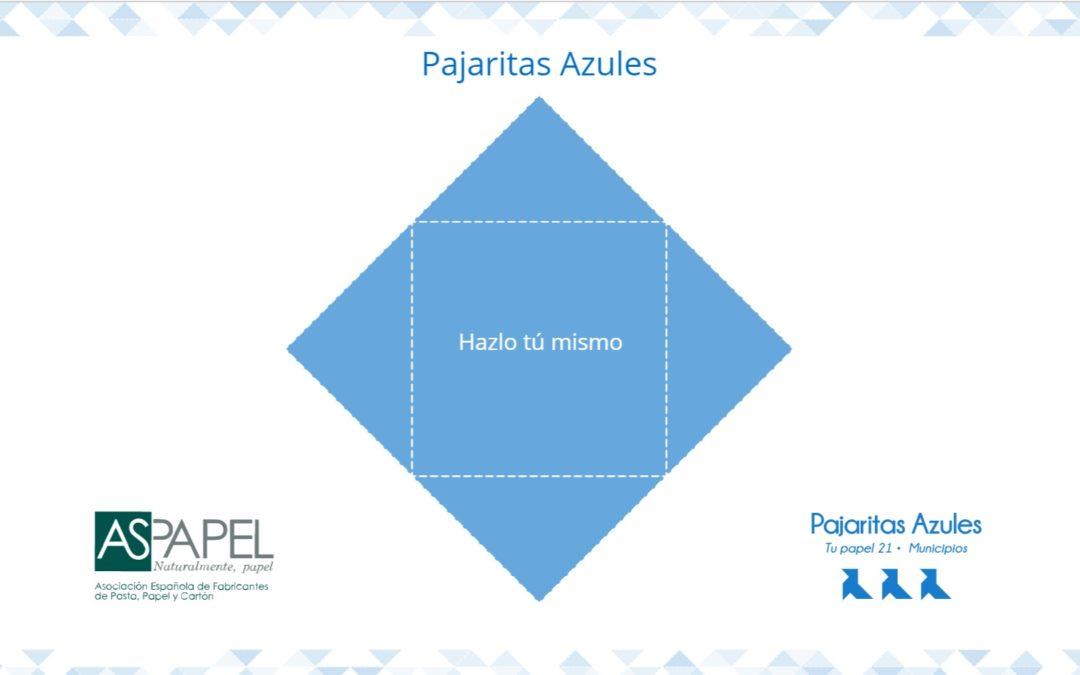 """El """"vídeoclip"""" de la Pajarita Azul presenta los objetivos y el funcionamiento del Programa"""