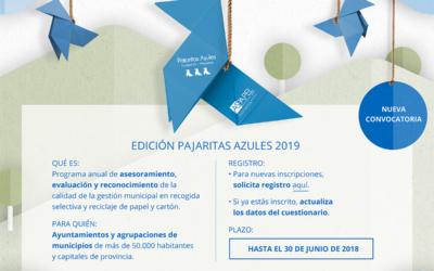La edición 2019 de Pajaritas Azules ya está en marcha