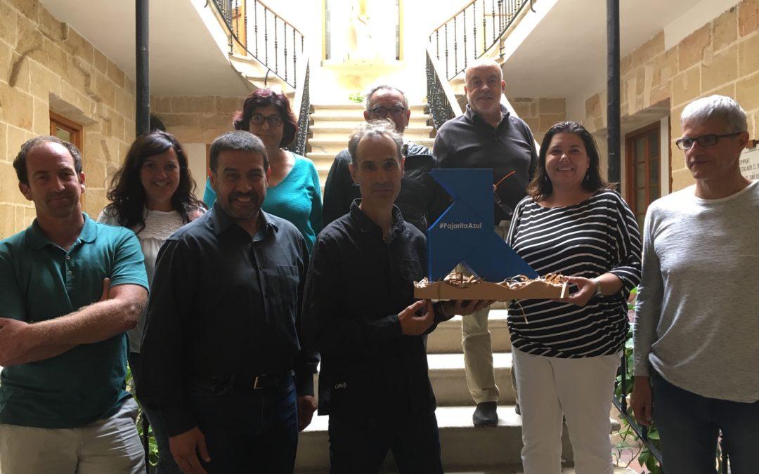 Una Pajarita Azul  anida en Menorca en su 25 aniversario como Reserva de la Biosfera