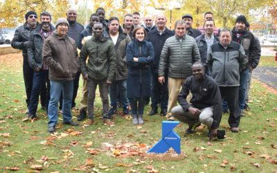 La Pajarita Azul se une a los trabajadores del servicio de limpieza de Soria