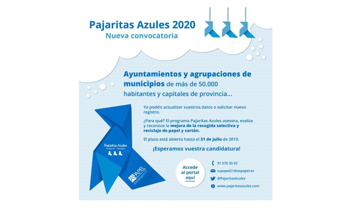 Pajaritas Azules abre su convocatoria 2020
