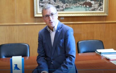 El secretario de Estado de Medio Ambiente, Hugo Morán, en Pajaritas Azules 2021