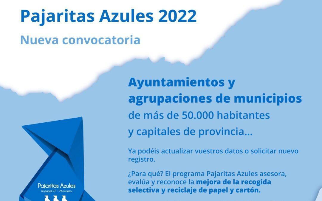 Pajaritas Azules abre su convocatoria 2022